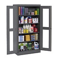 Tennsco Standard C-Thru Storage Cabinet