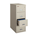 FireKing 4-1831-C 4-Drawer Fireproof Cabinet