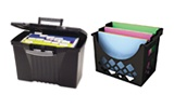 File Boxes & Desktop Filing