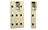 Triple Tier Steel Lockers