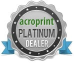 Acroprint Platinum Dealer