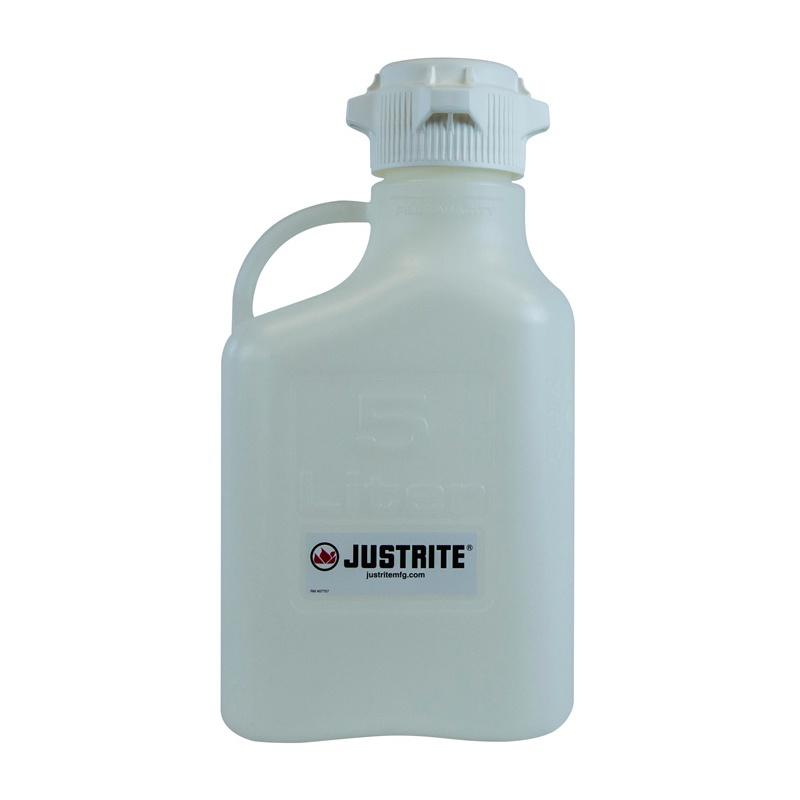 Justrite 1.3 Gal. HDPE Carboy 12908 12908