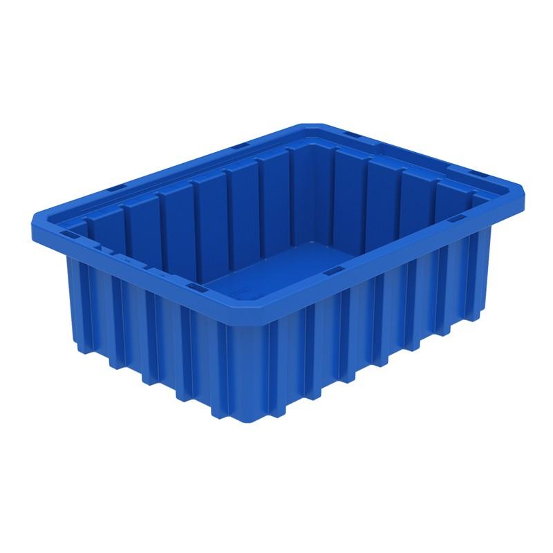 """Akro-mils Akro-grid 10-7/8"""" D X 8-1/4"""" W X 3-1/2"""" H Plastic Storage Bins 20 Pack"""