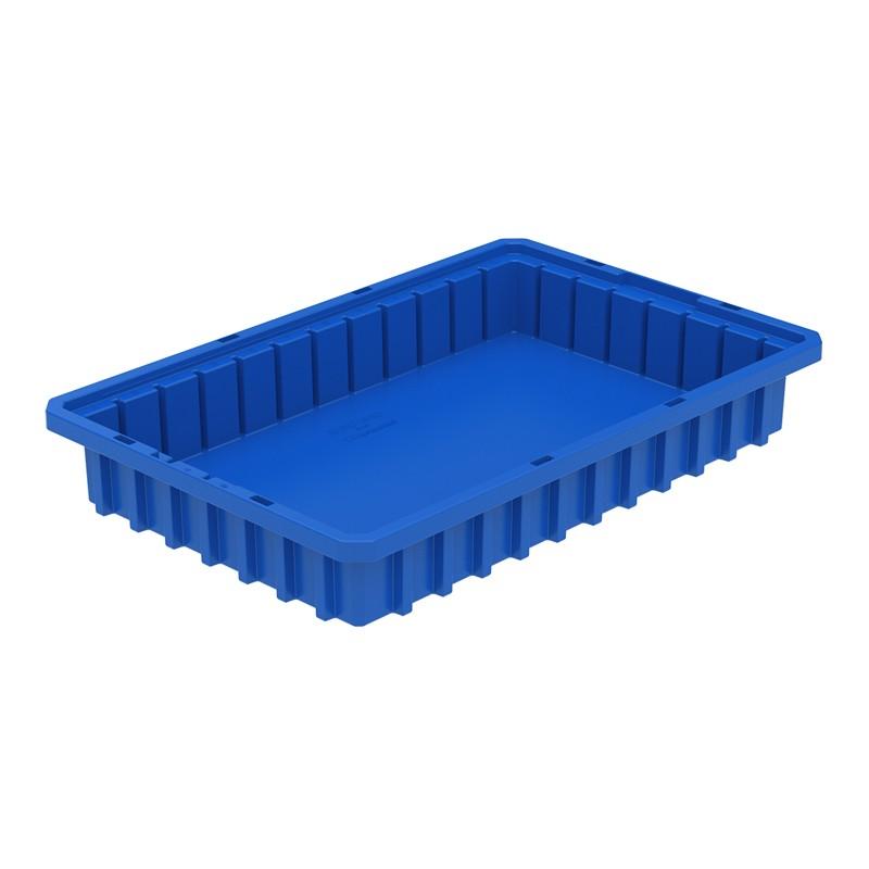 """Akro-mils Akro-grid 16-1/2"""" D X 10-7/8"""" W X 2-1/2"""" H Plastic Storage Bins 12 Pack"""