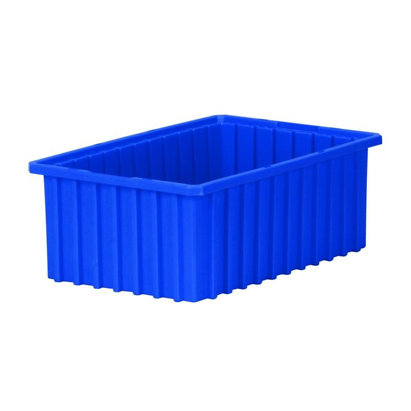 """Akro-mils Akro-grid 16-1/2"""" D X 10-7/8"""" W Plastic Storage Bins 8 Pack"""