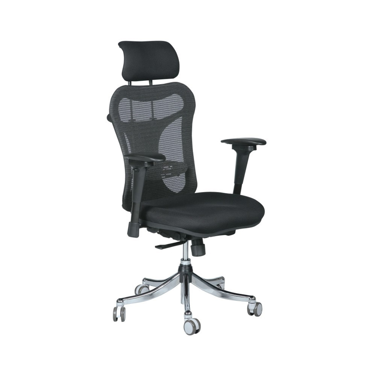 Balt Ergo Ex Mesh Fabric High-back Executive Office Chair