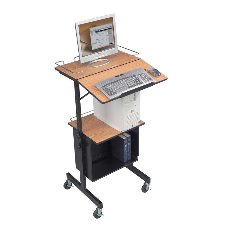 Balt Diversity 89786 Multipurpose Adjustable Height Av Cart