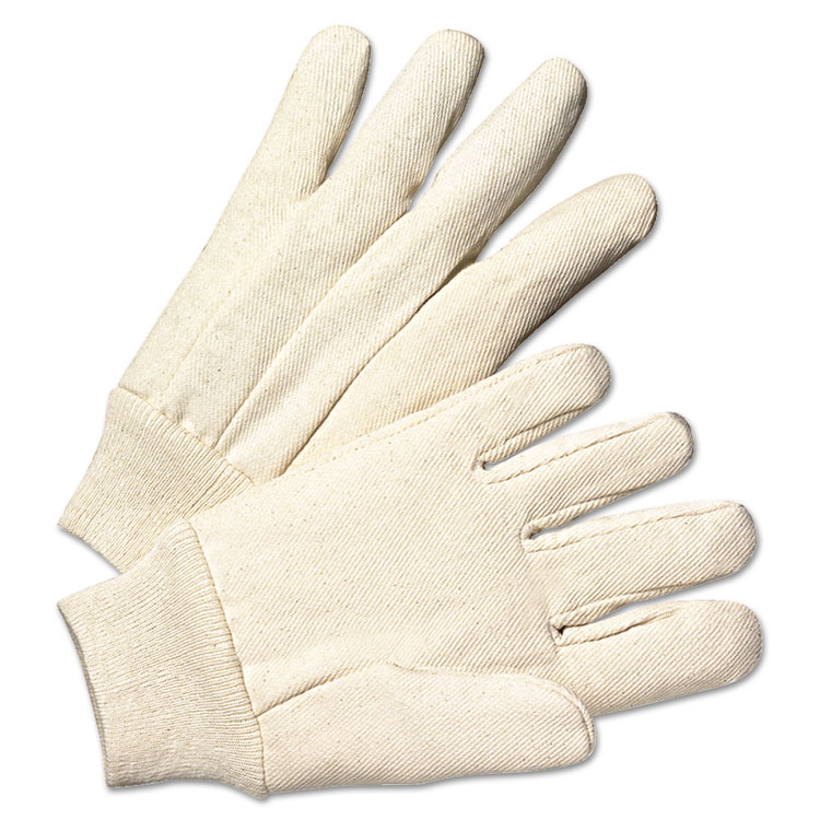 Anchor Light-duty Canvas Gloves White 12/pairs