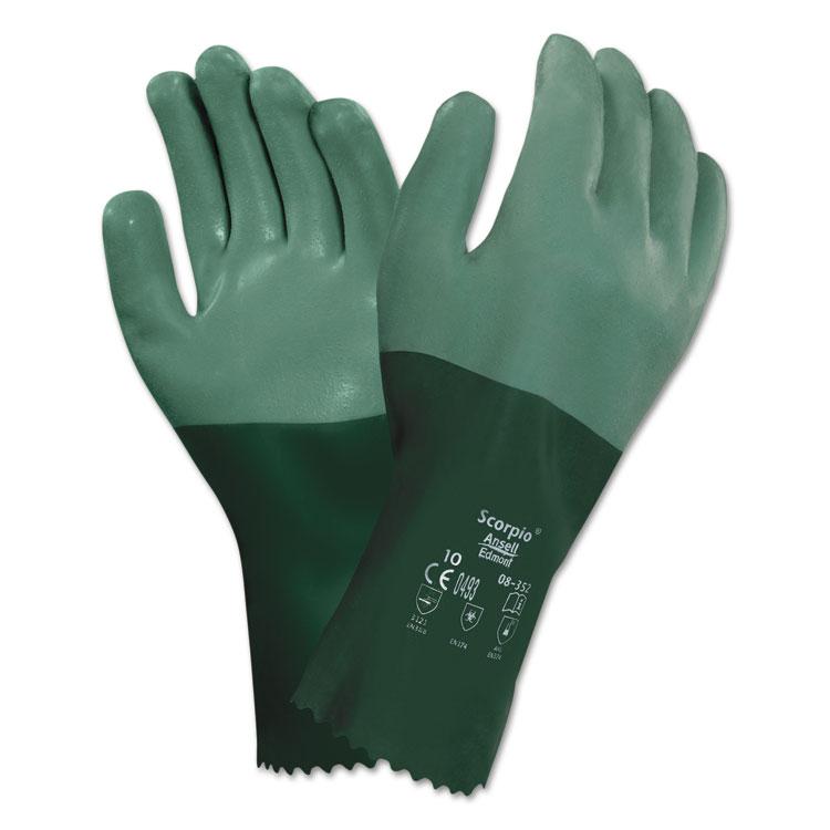 Ansellpro Scorpio Neoprene-coated Gloves Size 9 12/pair