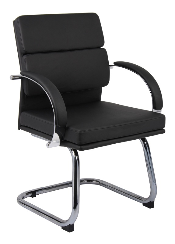 BOSS Office Products B9409 Aaria Caressoft Guest Office Chair 709357