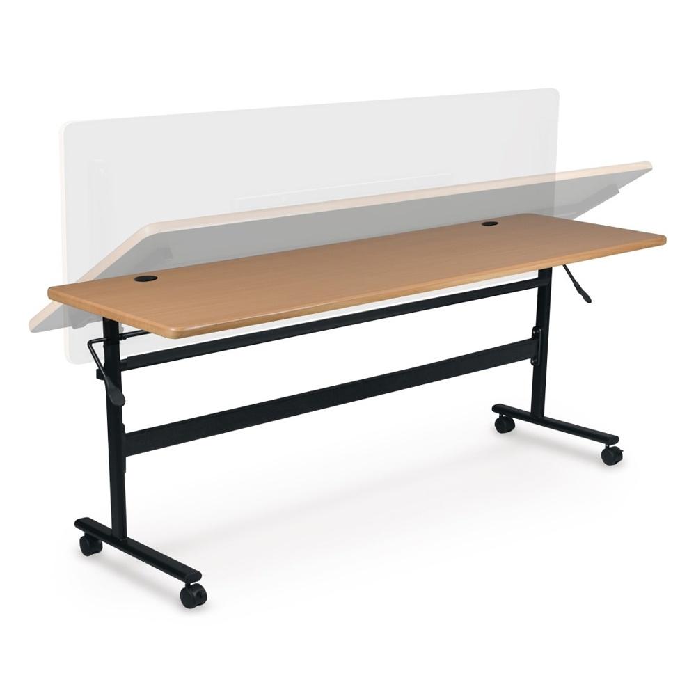 "Balt Economy 72"" W X 24"" D Nesting Flipper Training Table"