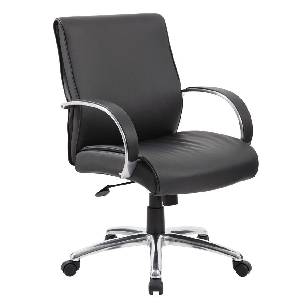 Boss B7716 Caressoftplus Mid-back Executive Office Chair