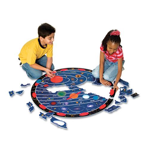 Chenille Kraft WonderFoam Solar System Floor Puzzle  66 Pieces 4404