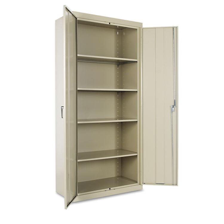 """Alera Cm7818py 36"""" W X 18"""" D X 78"""" H Storage Cabinet In Putty Assembled"""