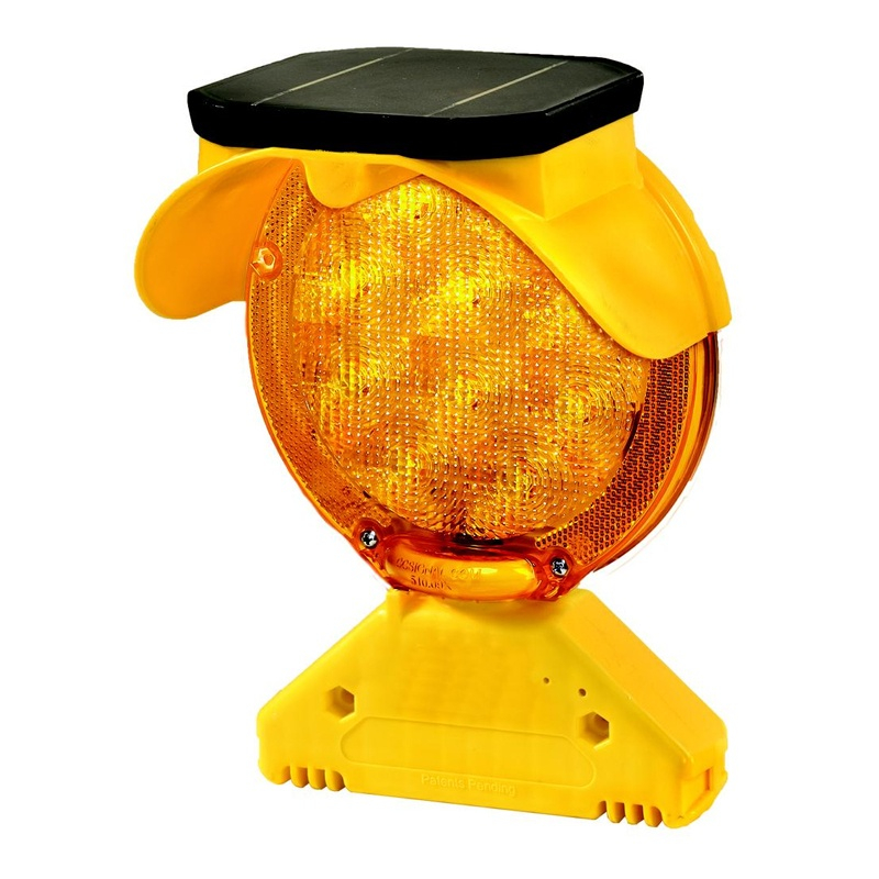 Checkers Safety Group Type B Solar Barricade Light