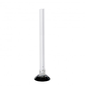 "Vestil 48"" H Surface Mounted Flexible Stake (in white, shorter 36"" model shown)"