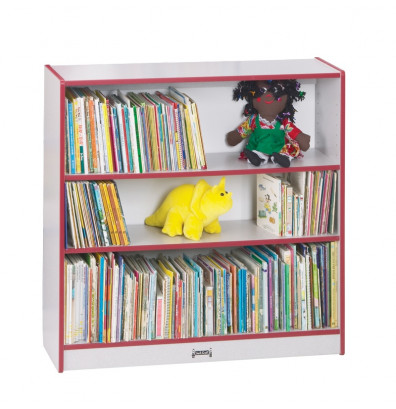 Jonti Craft Rainbow Accents 36 Short 3 Shelf Classroom Bookshelf