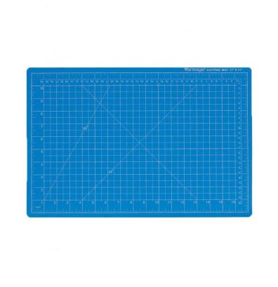 "Dahle Vantage 10693 24"" x 36"" PVC Self-Healing Cutting Mat, Blue"