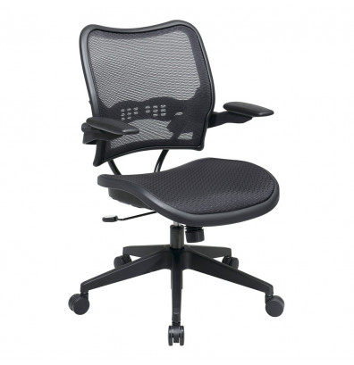 Office Star Space Seating Deluxe AirGrid Mesh Mid-Back Managers Chair