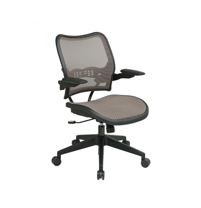 Office Star Deluxe Latte AirGrid Seat and Back Chair (Model 13-88N1P3)