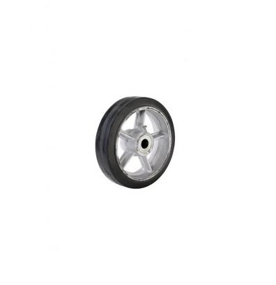 Wesco 150120 Cast Iron Center Moldon Rubber Wheel Replacement Caster