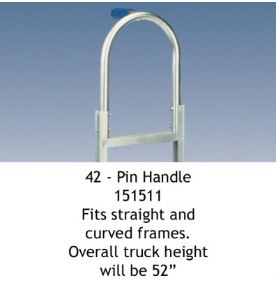Wesco 42 Pin Handle fits Straight and Curved Frames