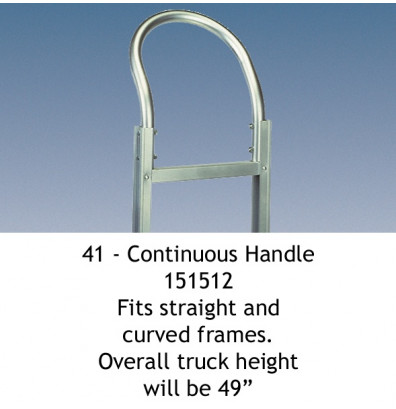 Wesco 41 Continuous Handle fits Straight and Curved Frames