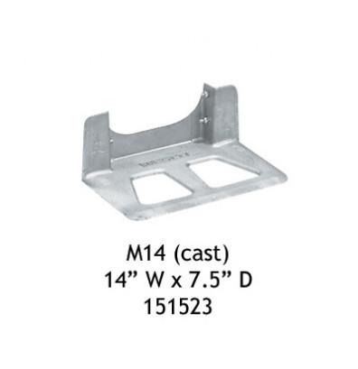 "Wesco M14 Magnesium Cast Noseplate 14""W x 7.5"" D (Hand Trucks)"