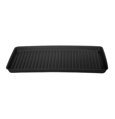 """Eagle 1677B 36"""" W x 18"""" L Spill Containment Utility Tray, 5 Gallons, Black"""