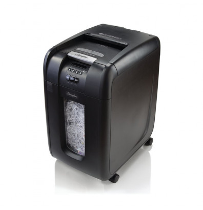 Swingline GBC 300X Stack-and-Shred Auto Feed Cross Cut Paper Shredder