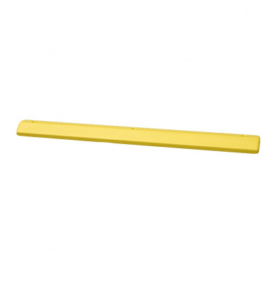 "Eagle 72"" L Polyethylene Parking Stop (Shown in Yellow)"