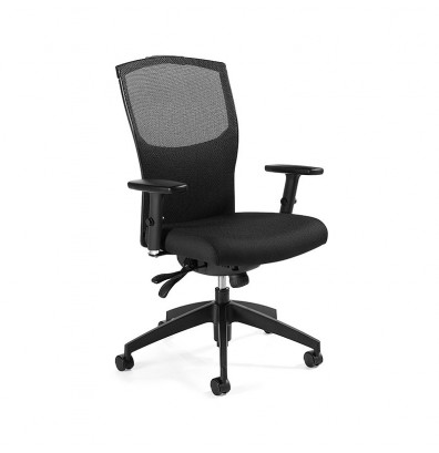 Global Alero 1961-3 Fabric High-Back Office Chair. Shown in Black