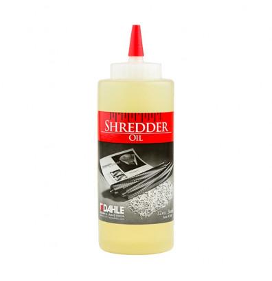 Dahle 20721 Shredder Oil, 12 oz. Bottles (Qty 6)