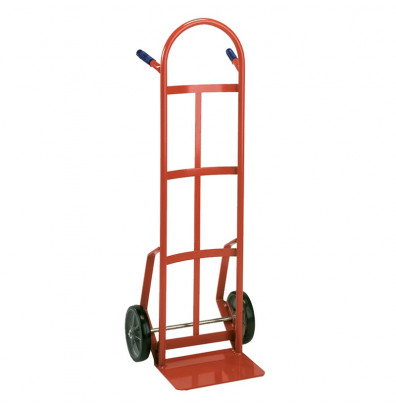 "Wesco 146PE Industrial Hand Truck 8"" x 14"" Nose 700 lbs Capacity 10"" Steel/Pneumatic Rubber Wheels"