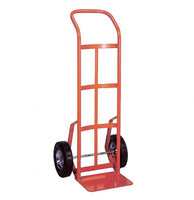 "Wesco 156 Series Swept Back Handle 600-800 lb Load 14"" Nose Hand Trucks"