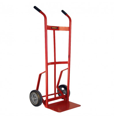 Wesco 136RN-HB Curved Dual Handle 800 lb Load Hand Truck