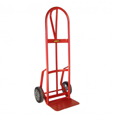 Wesco 126DRN-HB Curved Single Loop Handle 800 lb Load Hand Truck