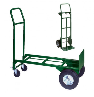 Wesco 656-21-Z2 Greenline 500/600 lb Convertible Steel Hand Truck