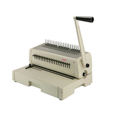 Tamerica 210PB Manual Punch and Comb Binding Machine