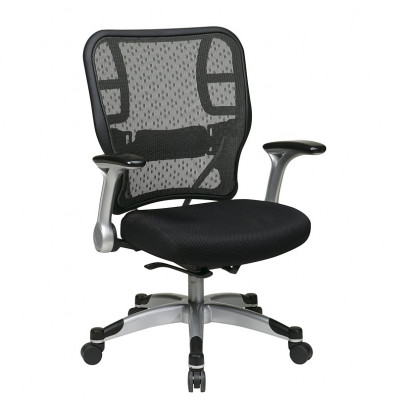 Office Star Deluxe R2 SpaceGrid Back Chair