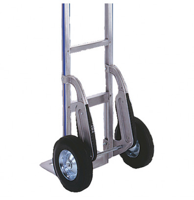 """Wesco S5F StairClimber Cast Aluminum pair with Continuous Rolling Belt (8"""" wheel only)"""