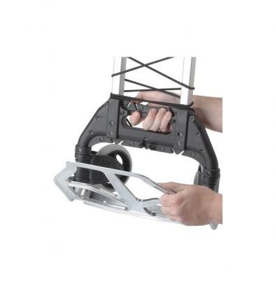 wesco mini mover 110 lb load lightweight aluminum folding hand truck. Black Bedroom Furniture Sets. Home Design Ideas