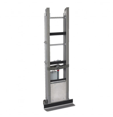 "Wesco DC-66 StairKing Battery Powered 850 lb Load 66"" H Stair Climbing Hand Truck"