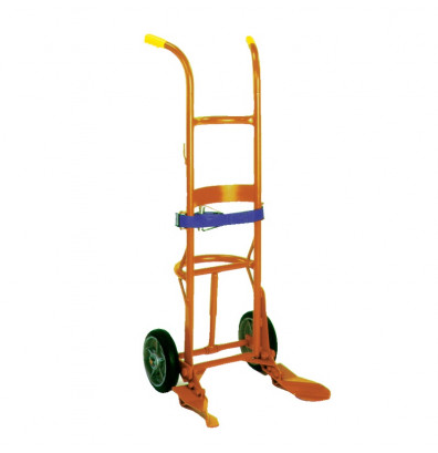 Wesco 45BT Overpack 1000 lb Load Drum Hand Truck, Moldon Rubber wheels