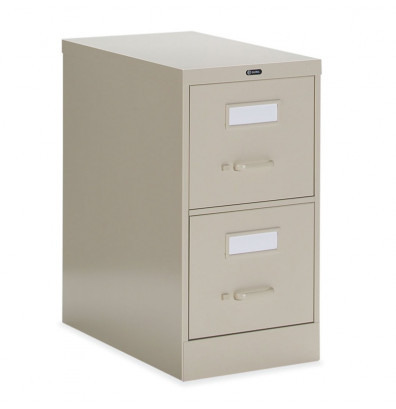 "Global 25-200 2-Drawer 25"" Deep Vertical File Cabinet, Letter (Shown in Desert Putty)"
