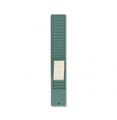 Acroprint 25 pocket Style 176 (Green) Time Card Rack