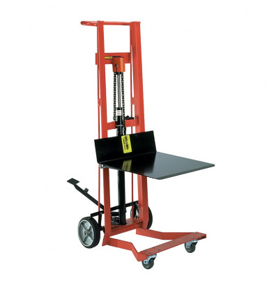 "Wesco DPL-54-2222 Four Wheel 54"" Hydraulic Foot-Operated Platform Lift Truck"