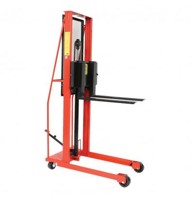 "Wesco ESFL-76-25 Economy 76"" Lift 1000 lb Load Manual Hydraulic Fork Stacker"