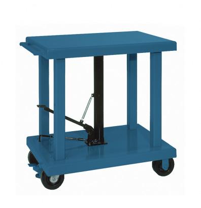 "Wesco LT-60-3248 6000 lb Load Heavy Duty 32"" x 48"" Hydraulic Lift Table"