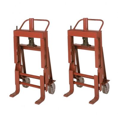 Wesco RNR-6 Rais-N-Rol 6000 lb Load Machinery Movers, Steel Wheels